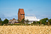 St. Severin Church, Keitum, Sylt Island, North Frisian Islands, Schleswig-Holstein, Germany