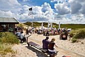 Sansibar, Restaurant in Dunes, Rantum, Sylt Island, North Frisian Islands, Schleswig-Holstein, Germany