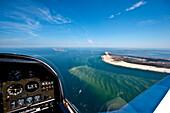 Aerial View of Amrum Island, North Frisian Islands, Schleswig-Holstein, Germany