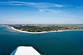 Aerial View of Föhr Island, North Frisian Islands, Schleswig-Holstein, Germany