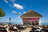 Concert, Promenade, Wyk, Föhr Island, North Frisian Islands, Schleswig-Holstein, Germany
