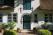 Thatched House, Niblum, Föhr Island, North Frisian Islands, Schleswig-Holstein, Germany