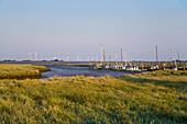 South harbor, Nordstrand, Schleswig-Holstein, Germany