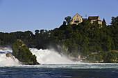 Rheinfall, Schloss Laufen, Laufen-Uhwiesen, Kanton Zürich, Schweiz