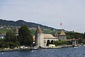 Castle of Rolle, Rolle, La Cote, Canton of Vaud, Switzerland