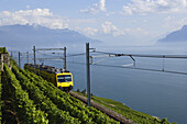 Train de Vignes, Lavaux, Canton of Vaud, Switzerland