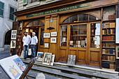 Antique shop, Old Town, Geneva, Canton of Geneva, Switzerland