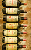 Wine cellar with vintage wines, Chateau Petrus, Palais Coburg, Vienna, Austria