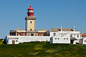 Lighthouse at Cabo da Roca, Costa de Lisboa, Lisbon District, Estremadura, Portugal, Atlantic