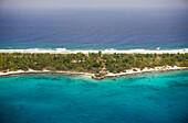 View at Majuro Island, Marshall Islands, Majuro Atoll, Micronesia, Pacific Ocean