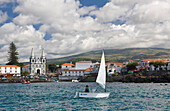 Port Madalena on Pico, Pico Island, Azores, Portugal