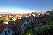 View of Visby, Gotland, Sweden, Scandinavia, Europe