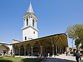 Topkapi Palace Imperial Council Hall and Tower of Justice, Istanbul, Turkey