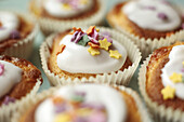 Homemade fairy cakes