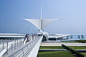 Quadracci Pavilion Art Museum, Milwaukee, Wisconsin, USA