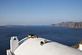 Greece. Cyclades Islands. Santorini. Oia.