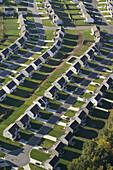 Housing development aerial views, Highpoint, NC, USA