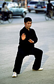 Early morning Tai Chi exercises, Kunming, Yunnan, China