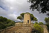 Watchtower. Valldemossa, Majorca, Balearic Islands, Spain