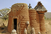 Fortified village of Tamberma tribe. Togo. Western Africa.
