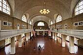 Entry hall, Ellis Island, Manhattan, New York City, New York, USA