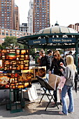 Market at Union Square, Manhattan, New York City, New York, USA