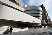 Guggenheim Museum, Manhattan, New York City, New York, USA