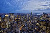 Empire State Building, Manhattan, New York City, New York, USA