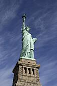 Freiheitsstatue, Liberty Island, New York City, New York, USA