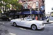 Luxus Cabrio, Greenwich Village, Manhattan, New York City, New York, USA