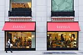 Schaufenster einer Boutique, Madison Avenue, Manhattan, New York City, New York, USA