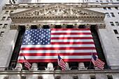 New Yorker Börse, Wall Street, Manhattan, New York City, New York, USA