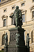 memorial statue to the baron, Freiherr vom Stein in front of the house of representatives, Berlin, Germany