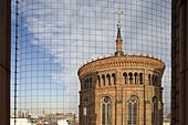 St Thomas Church, bird net, Kreuzberg, Berlin, Germany