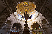 Berliner Dom, Neo-Baroque pulpit and cupola, Berlin