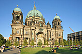 Berliner Dom, Berlin Cathedral church, Lustgarten, summer, Berlin