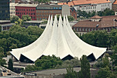 Tempodrom at Anhalter Station, Berlin, Germany, Europe