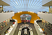 Interior view of the philological library, Dahlem, Berlin, Germany, Europe