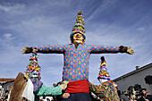 Miel-Otxin', Lantz carnival. Navarra. Spain