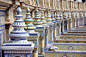 Andalucia, Andalusia, Building, Buildings, cities, city, Cityscape, Cityscapes, Civil architecture, Color, Colour, Daytime, Europe, exterior, Landmark, Landmarks, Nobody, outdoor, outdoors, outside, Palacio Central, Plaza de España, Sevilla, Seville, Spai