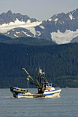 Commercial Fishing Boats in Seward Alaska AK U S United States Kenai Peninsula Resurrection Bay charter commercial fishermen