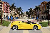 Lamborghini automobile Naples Florida Bayfront Shopping District