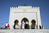 Mohammed V Mausoleum. Rabat. Morocco