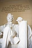 Lincoln Memorial. Washington DC. USA.