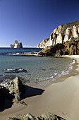 Beach, Beaches, Blue, Calm, Calmness, Clear, Coast, Coastal, Color, Colour, Cove, Coves, Daytime, Deserted, Ecosystem, Ecosystems, Europe, Exterior, Island, Islands, Italy, Limpid, Mediterranean Sea, Nature, Outdoor, Outdoors, Outside, Pan di Zucchero, Qu