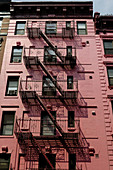 Fire escape. New York, USA.