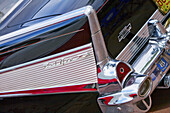 America, Antique, Auto, Automobile, Black, Car, Chevrolet, Chevy, Chrome, Chvevrolet, Classic, Color, Colour, Fin, Old, Reflection, Show, Tail, Usa, S19-656840, agefotostock