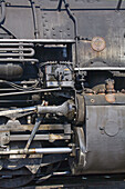 America, Antique, Closeup, Coal, Color, Colorado, Colour, Detail, Durango, Early, Engine, Guage, Iron, Light, Locomotive, Macro, Mining, Morning, Narrow, Power, Rail, Silverton, Steam, Sunrise, Train, United states, Usa, S19-656857, agefotostock