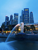 Architecture, Asia, Building, Buildings, Cities, City, Cityscape, Cityscapes, Color, Colour, Downtown, Evening, Exterior, Illuminated, Illumination, Lights, Night, Nighttime, Outdoor, Outdoors, Outside, Reflection, Reflections, River, Rivers, Singapore, S