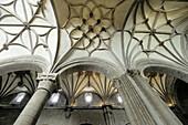 Romanesque cathedral of San Pedro (11th century). Jaca. Jacetania. Huesca province, Aragon. Spain.